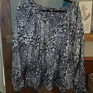 Ellen Tracy Peplum top size XL
